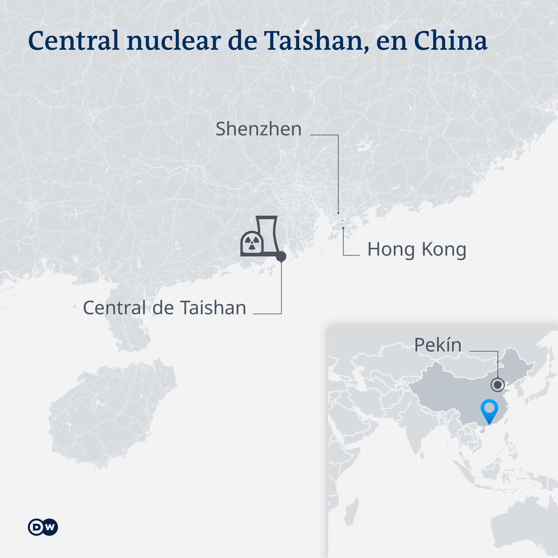 Central de Taishan, China