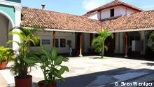 Dietmar Schönherrs Nicaragua Projekt, Copyright: Sven Weniger. Nicaragua - Granada, Casa de los tres Mundos, Patio