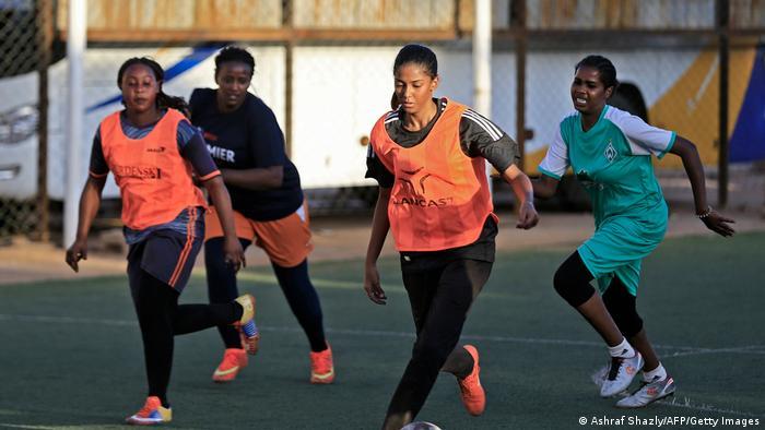Sudan Gleichberechtigung Frauen Fußballerin