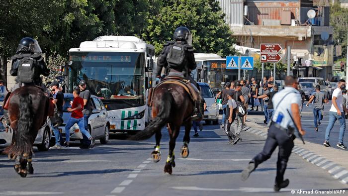 Під час маршу в Єрусалимі