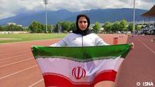 Iran Sport l Diskuswerferin Mahla Mahroughi