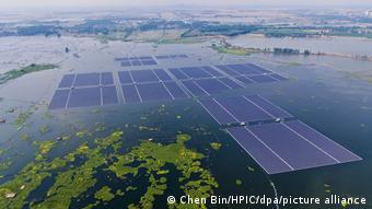 China Umwelt l Größte schwimmende Solaranlage in Huainan