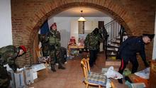Italien: Großeinsätze der Polizei gegen Mafia-Clans
