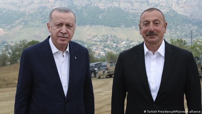 Президенты Турции и Азербайджана в Шуше