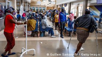 Südafrika Coronavirus Krankhaus