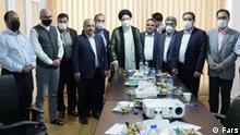 Treff der reformist-journalisten mit Raeesie, 15.06.2021 schlagwort: iran wahl, raeesie, reformisten quelle: fars