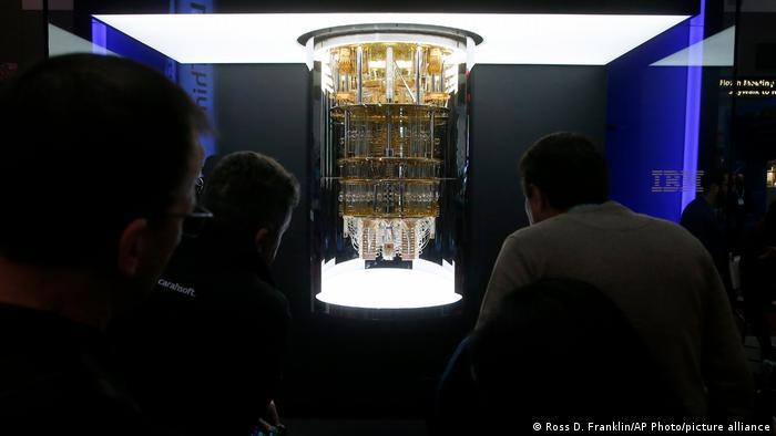 IBM's Q System One quantum computer