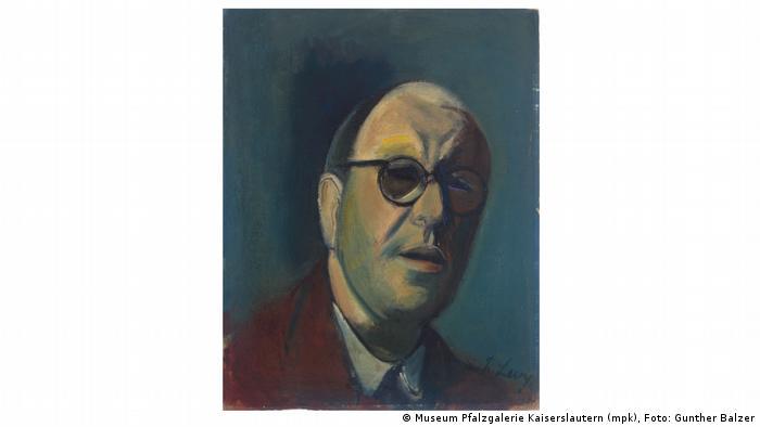 Artwork by Rudolf Levy, Self portrait IV