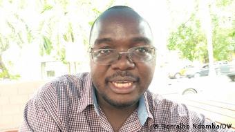 Angolanischer Journalist Coque Mukuta