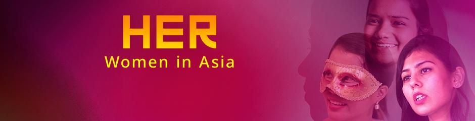 DW Her – Women in Asia Program Guide Themenheader
