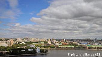 Blick über die russische Stadt Jekaterinburg (Foto: ZB)
