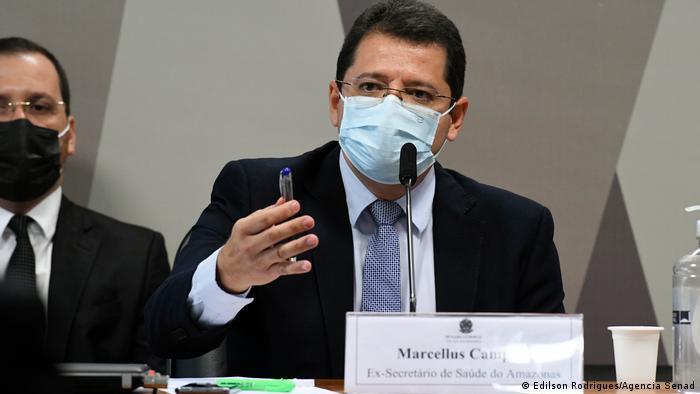 Marcellus Campêlo, ex-secretário de Saúde do Amazonas