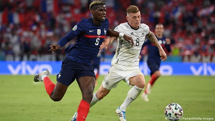 Deutschland München | UEFA Euro 2020 | Frankreich v Deutschland | Zweikampf