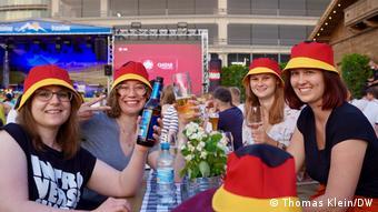 Public Viewing beim EM-Spiel Frankreich gegen Deutschland