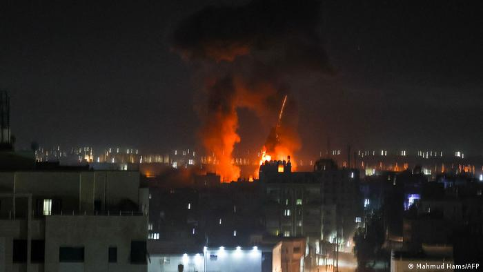 Erneute Angriffe in Gaza City
