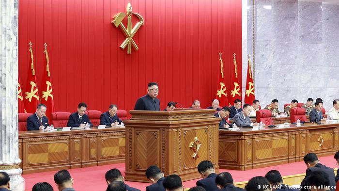 Kim Jong Un na sastanku Radničke partije