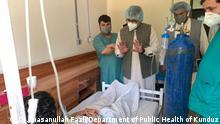 Behandlung von Covid-19 in der afghanischen Provinz Kunduz