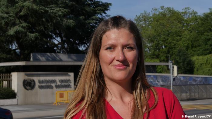 Schweiz Genf | Beatrice Fihn, Executive Director von ICAN