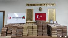 ACHTUNG: Nur für Türkische Redaktion! TICARET BAKANI MEHMET MUS, TWITTER HESABINDAN ACIKLAMA YAPTI FOTO-ANKARA-DHA Kokain auf Rekordniveau in Mersin (Türkei) beschlagnahmt. Foto: DHA