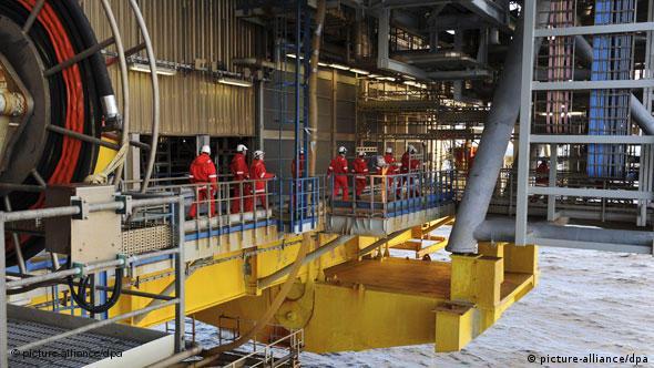 Statoilova platforma Oseberg za eksploataciju zemnog plina