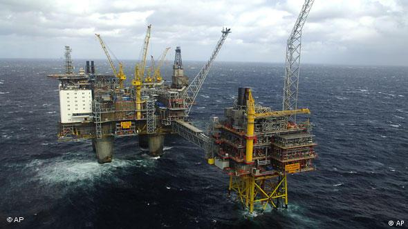 Naftna platforma u Sjevernom moru