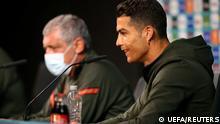 Euro 2020 Portugal Pressekonferenz Cristiano Ronaldo