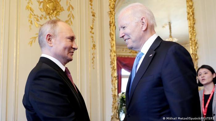 Putin i Biden u Ženevi