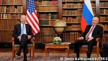 Schweiz Gipfeltreffen USA Russland in Genf