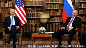 Байден и Путин в Женеве