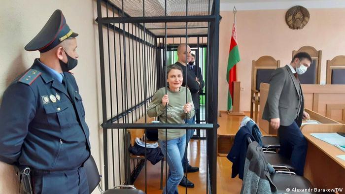 Wir dürfen Belarus nicht aus den Augen verlieren - Prozess gegen Regierungskritiker in der Stadt Krugloe