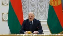 Belarus Regierung l Belarussischer Präsident Lukaschenko