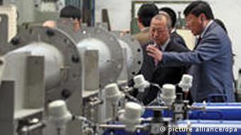 China Wirtschaft Deutschland Investitionen Technik Siemens Leipzig