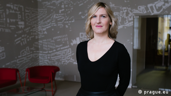 Portrait photo of Hana Trestikova, Prague city councilor for culture and tourism