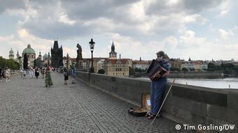 Из-за пандемии в Праге исчезли туристы