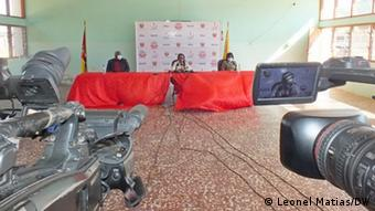 Mosambik Frauengefängnis von Ndlavela
