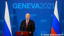 Schweiz l Biden und Putin treffen sich in Genf l PK Putin