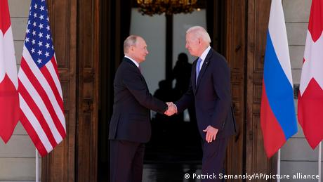 Elveția Biden și Putin s-au întâlnit la Geneva