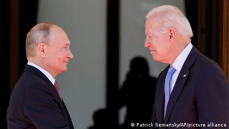 Schweiz l Biden und Putin treffen sich in Genf l Begrüßung
