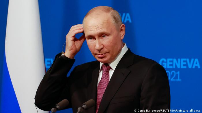 Vladimir Putin em Genebra