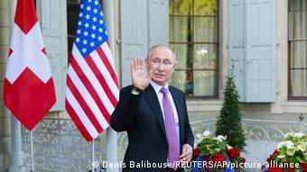 Schweiz l Biden und Putin treffen sich in Genf l Verabschiedung Putin