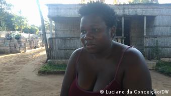 Mosambik l Piedosa Matsinhe, Mutter eines behinderten Kindes, Inhambane