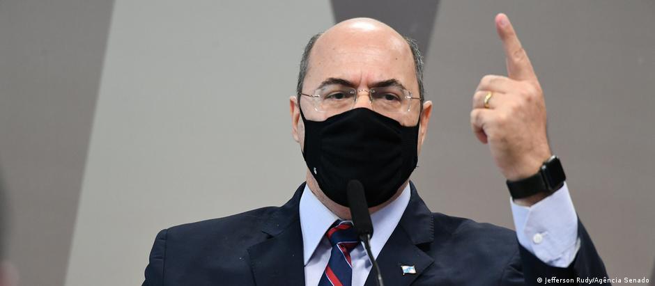 Brasilien l Wilson Witzel sagt im Untersuchungsausschuss des Senats aus