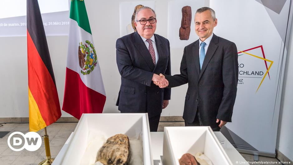 Mexico recovers archaeological pieces from Germany