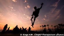 BdTD USA | Skateboarder in Venice Beach L.A.