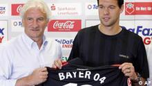 Fußball Deutschland Michael Ballack Leverkusen PK