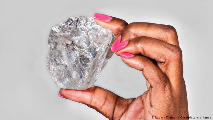 Botsuana | Lesedi La Rona Diamant