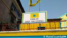 Hauptsitz der CASA-CE-Koalition in Luanda, Angola.