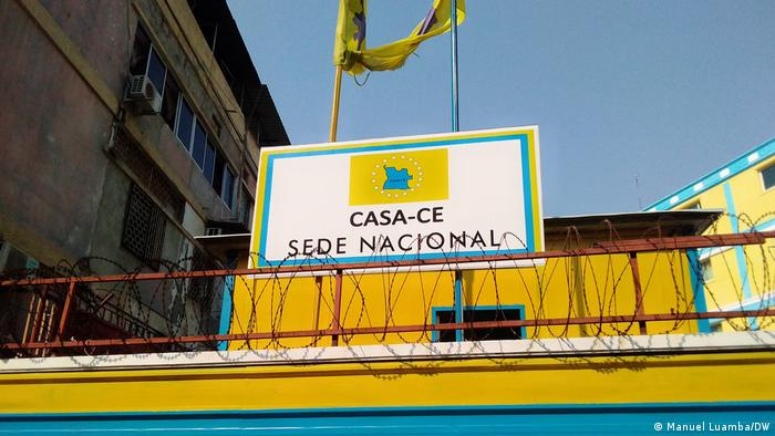 Angola Luanda | Hauptsitz der CASA-CE-Koalition