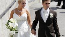 Fußball Deutschland Phillipp Lahm Claudia Hochzeit