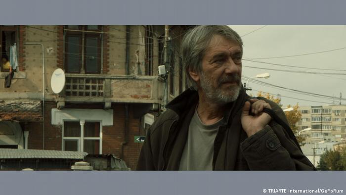 Marcel Iureş în filmul de scurt metraj Omul